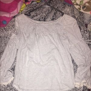 maurices off the shoulder long sleeve